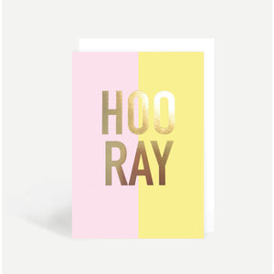 Hooray Sunshine Card