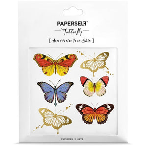 Temporary Tattoo Butterflies