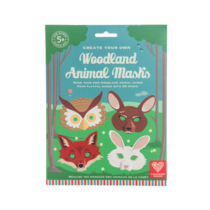 Make your Own Woodland Animal Masks