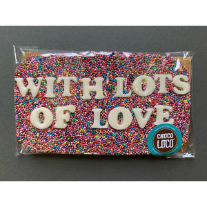 With Lots Of Love Chocolate Bar