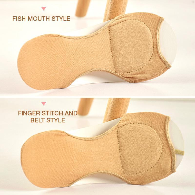 Invisible Fish Mouth Boat Socks 2pcs