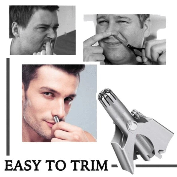 Safe Super Touch Stainless Steel Nose Hair Trimmer
