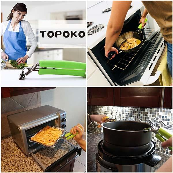 Kitchen Oven Anti-scalding Mobile Clip Set (2pcs)