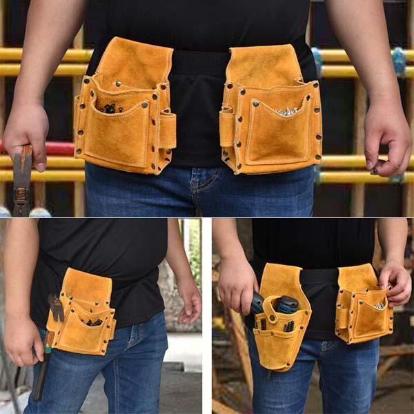 Multi-function Drill Nails Waist Tool Bag