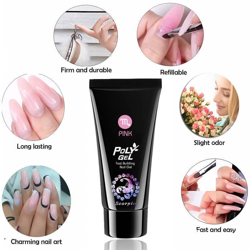 Poly Nail Extention Gel Kit