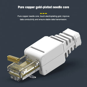 RJ45 Plugs Round Solid Stranded Conductor