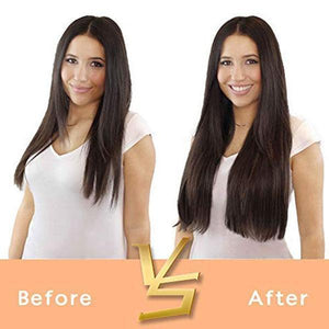 One-Piece Straight Curly Hair Extensions