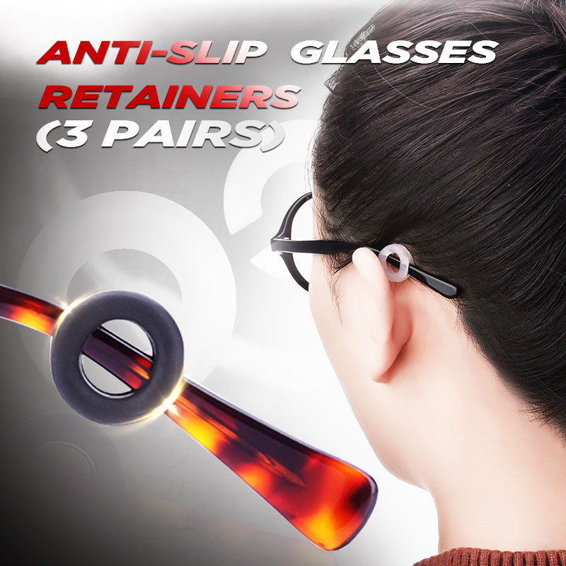 Anti-Slip Round Comfort Glasses Retainers(3 pairs)