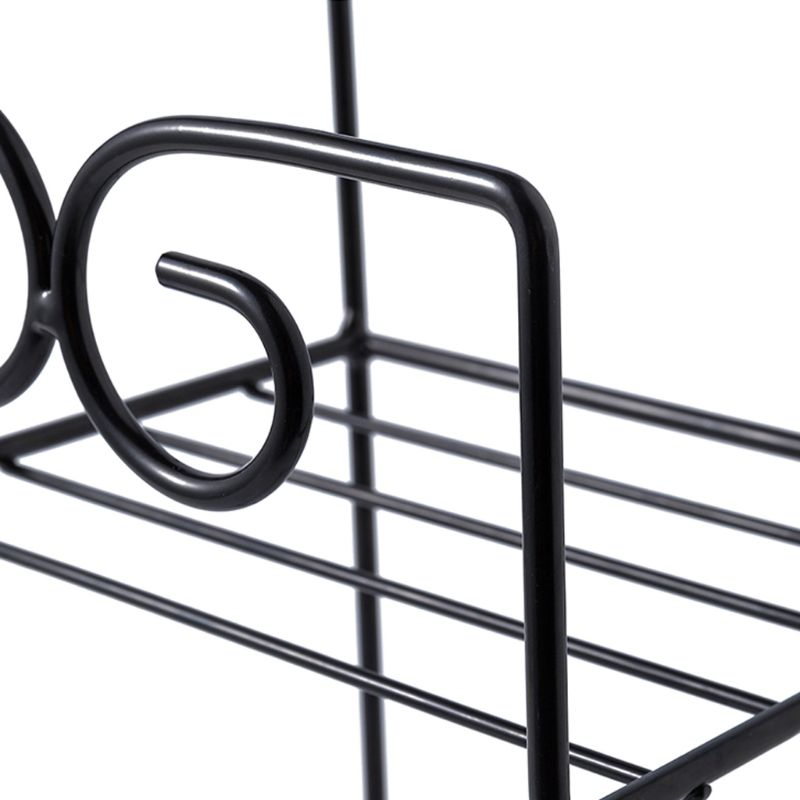 Wall-Mounted Iron Storage Rack