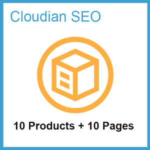 Product Listing SEO Scheme (10 Pages + 10 Products)