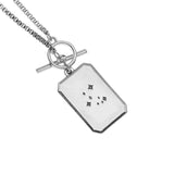 Foxy Originals Be The Change Necklace Silver