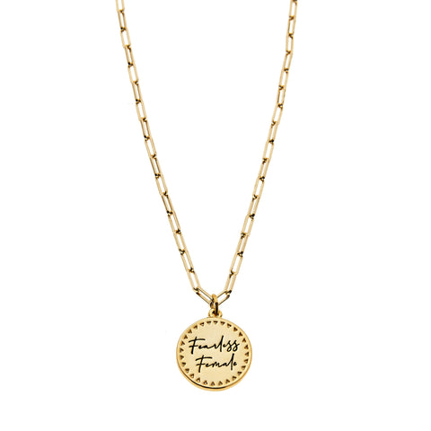 Foxy Originals Fearless Female Necklace