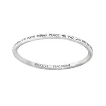 Article 22 Peace All Around Bangle
