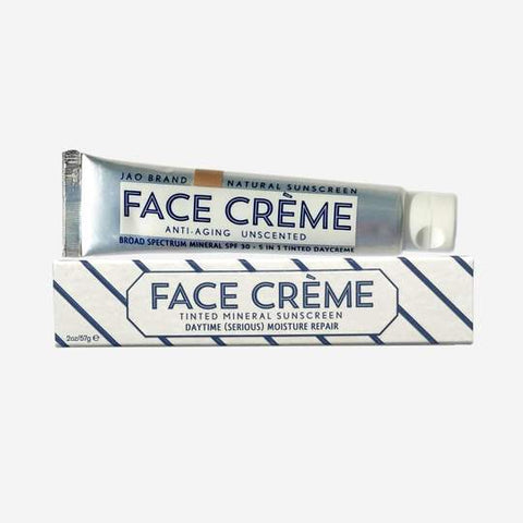 Jao Face Cream Tinted Mineral Sunsceen