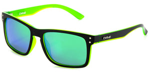 GOBLIN Matt Black | Green Iridium Polarized Sunglasses - Carve Eyewear