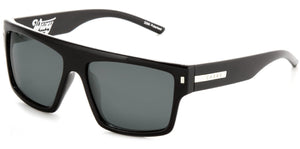 WAVEY Gloss Black | Grey Polarized - Carve Eyewear