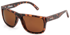 CRIMSON Matt Tort | Brown Polarized Sunglasses - Carve Eyewear
