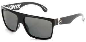 ONYX Gloss Black | Grey Polarized Sunglasses - Carve Eyewear