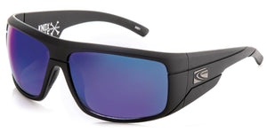 KNOXVILLE Matt Black | Blue Iridium Non-Polarized Sunglasses - Carve Eyewear