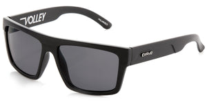 VOLLEY Matt Black | Grey Non-Polarized - Carve Eyewear