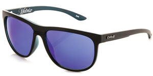 MATRIX Matt Black | Blue Iridium Non-Polarized Sunglasses - Carve Eyewear