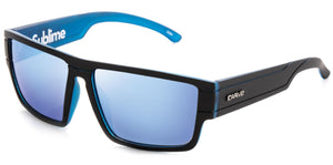 SUBLIME Matt Black/Blue | Blue Iridium Non-Polarized - Carve Eyewear