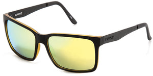 THE ISLAND Matt Black | Gold Iridium Non-Polarized - Carve Eyewear