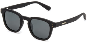 HAVANA Matt Black | Grey Polarized Sunglasses - Carve Eyewear