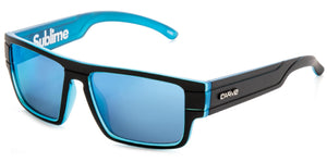 SUBLIME KIDS Matt Black/Crystal | Blue Iridium Non-Polarized Sunglasses - Carve Eyewear