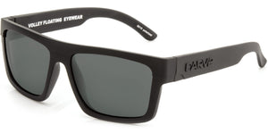 VOLLEY FLOATABLE Matt Black | Grey Polarized - Carve Eyewear