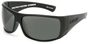 WOLFPAK FLOATABLE Matt Black | Grey Polarized - Carve Eyewear