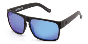 VENDETTA FLOATABLE Matt Black | Blue Iridium Polarized - Carve Eyewear
