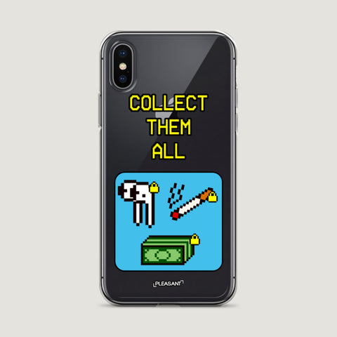 Collect Them All iPhone Case - Pleasant Cases
