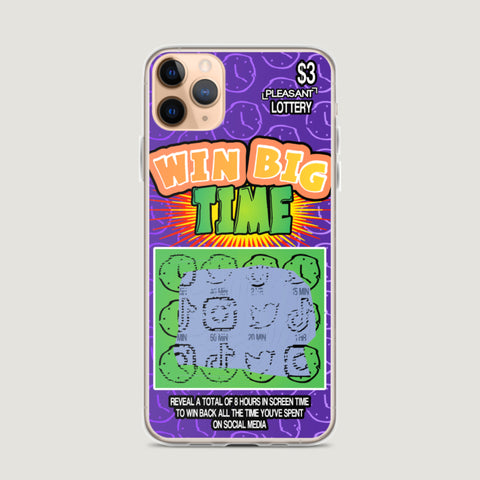 Win Big TIME iPhone Case - Pleasant Cases