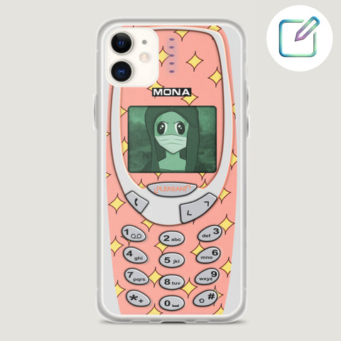 [Customized] Coral Cartoon Old School iPhone Case