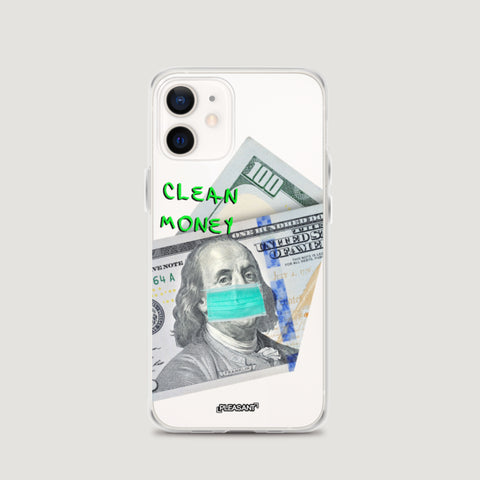 Clean Money iPhone Case