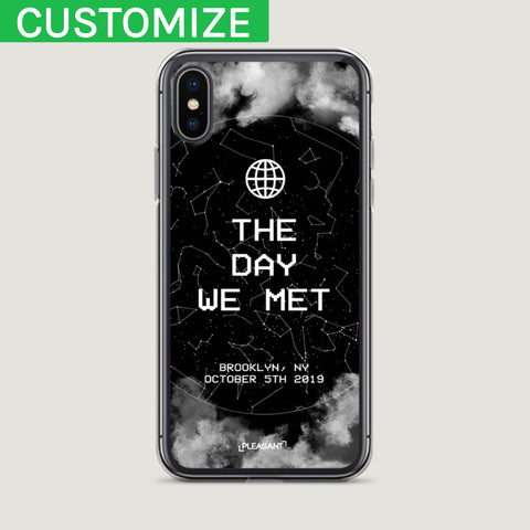 Customized Star Map iPhone Case - Pleasant Cases