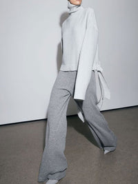 Advanced Minimalist High Neck Design Suit
