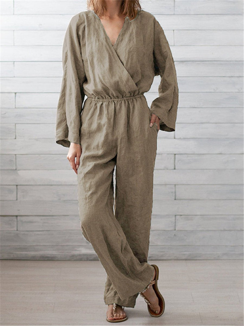 Casual Simple Solid Color Piece Pants