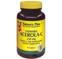 Acerola-C - 250mg - 90 Tabs - Natures Plus