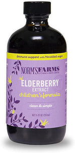 Elderberry Extract Children's Formula - 8 Fl Oz - Norm's farms