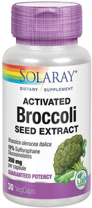 Activated Broccoli Seed Extract - 350 mg - 30 Caps - Solaray