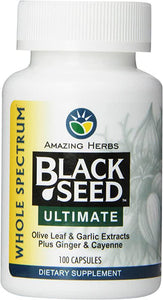 Black Seed Ultimate - 100 Caps - Amazing Herbs