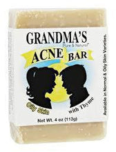Load image into Gallery viewer, Acne Bar - 4 oz - Grandma's