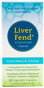 Live Fend - Liver Detox and Cleanse - 90 Veg. caps