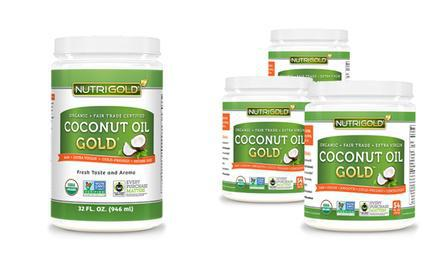 Coconut Oil Gold - 54 oz - Nutrigold