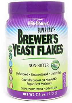 Brewers Yeast Flakes - 7.4 oz - Bluenonnet
