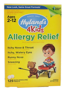 Allergy Relief - 125 Tabs - Ages 2-12 - Hyland's
