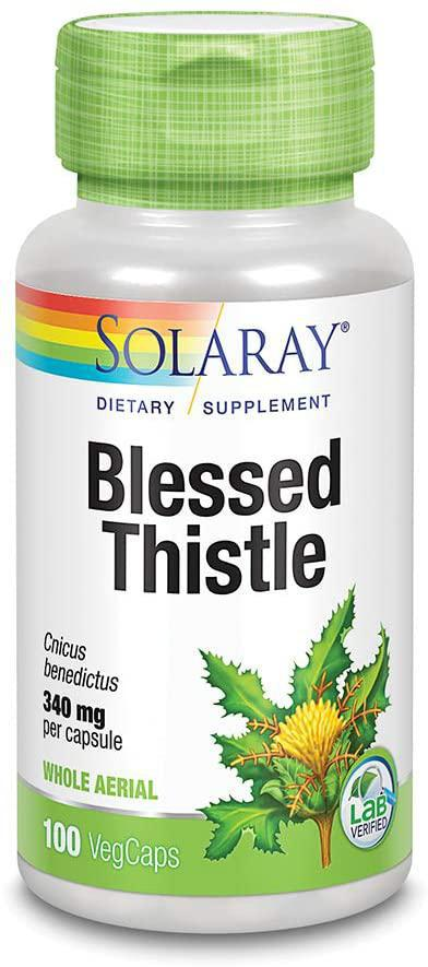 Blessed Thistle - 340 mg - 100 Cap - Solaray