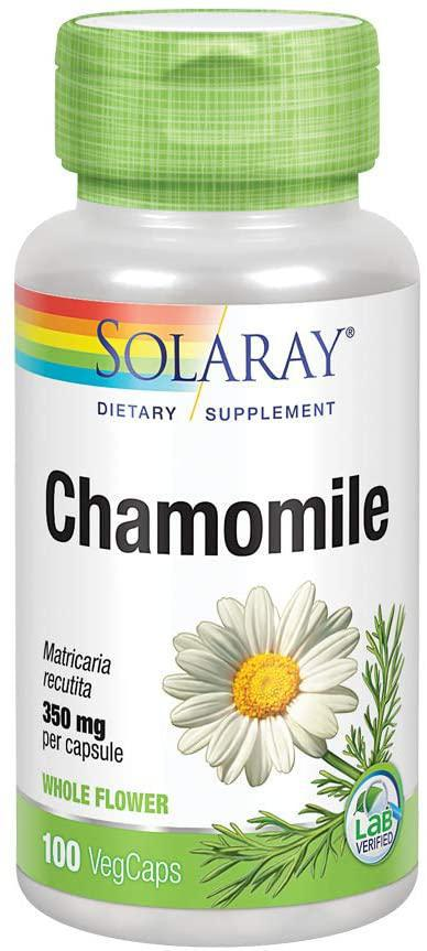 Chamomile - 350 mg - 100 Caps - Solaray